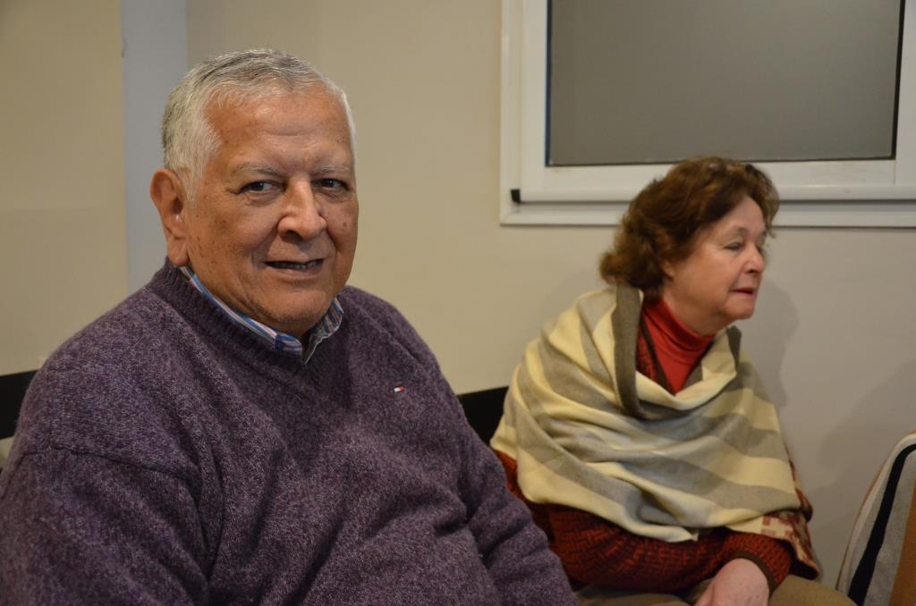 Autoridades del ISSPSE saludaron a los jubilados en su día