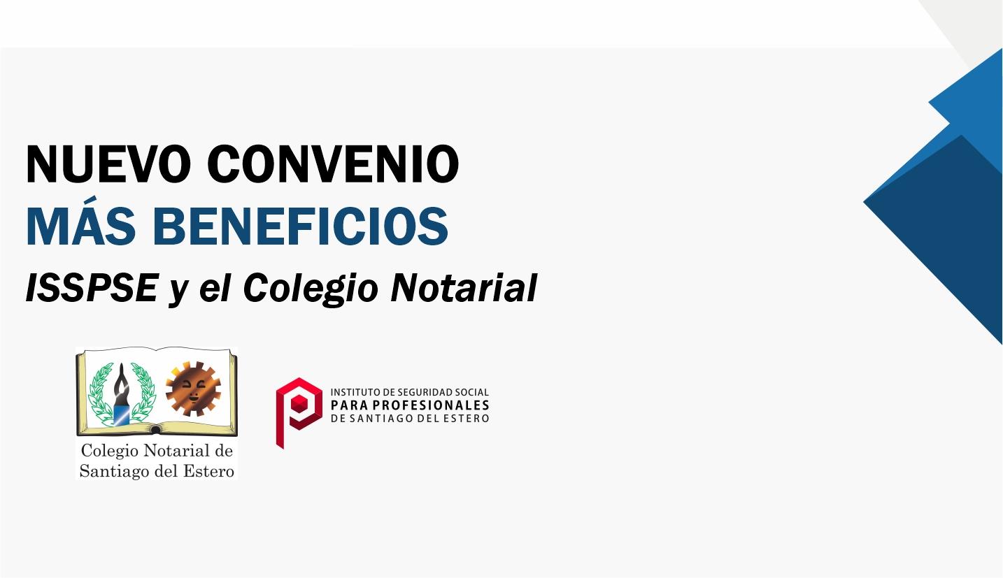 Convenio con el Colegio Notarial para el pago de aportes de sus matriculados