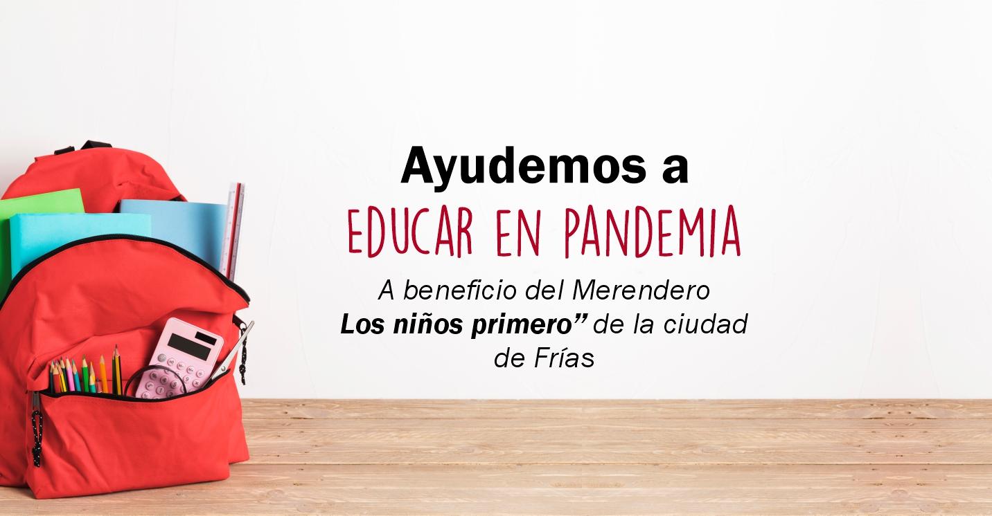 """El ISSPSE lanza la campaña solidaria""""Educar en Pandemia"""""""